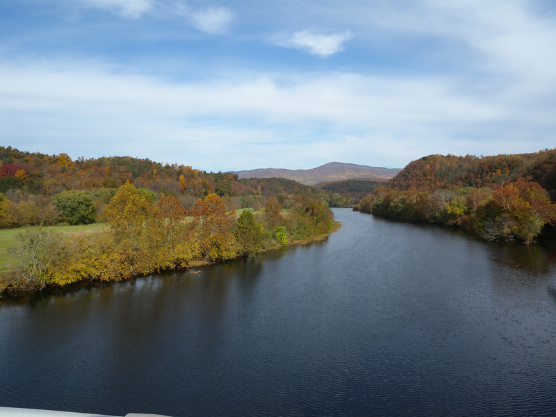 James River on the Blue Ridge Parkway