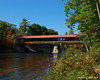 Saco River Bridge - The Southern side from down stream
