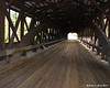 Saco River Bridge - Looking through the bridge