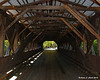 Albany Covered Bridge - Looking thru the inside