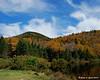 Hills and Colors behind Saco Lake