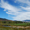 Clouds over the Mount Washington Resort