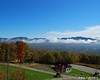 The White Mountains to the East