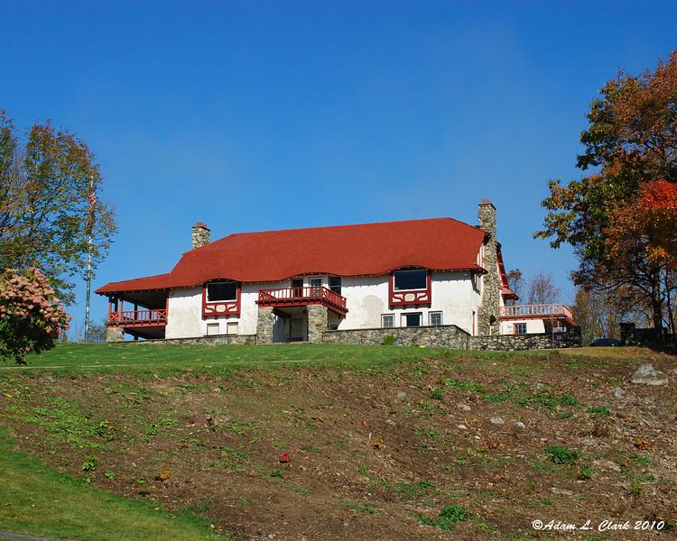 The house at the top of the hill