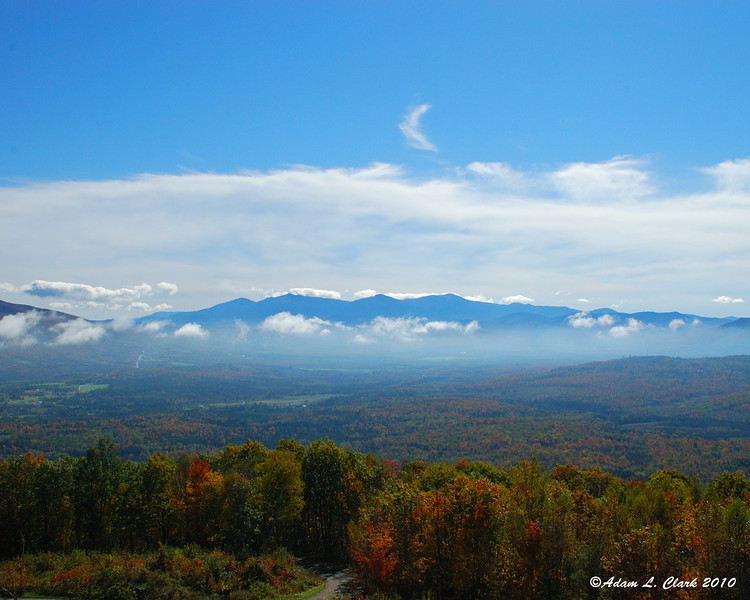 The presidential range to the Southwest