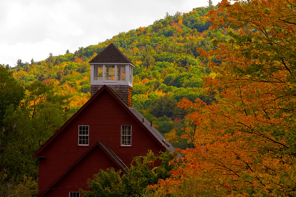 Fall Color - New Hampshire, Vermont, Maine