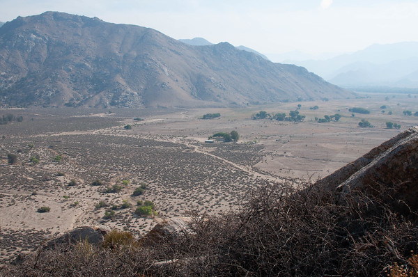 Kern River Preserve, Weldon CA.  Sprague Ranch from Red Tail Point.