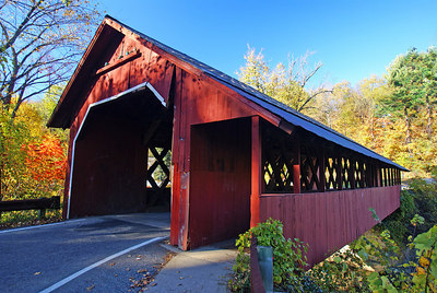 the spectacular covered bridges of Vermont