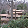 Fallingwater as viewed from approach path