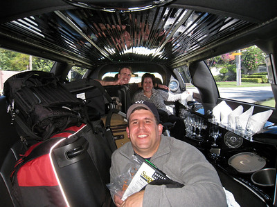 Big pimpin' in the limo!