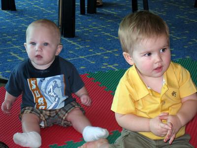 Sean and Caden