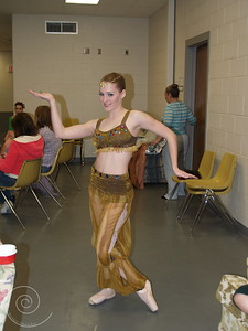 Arabian Costume for Nutcracker