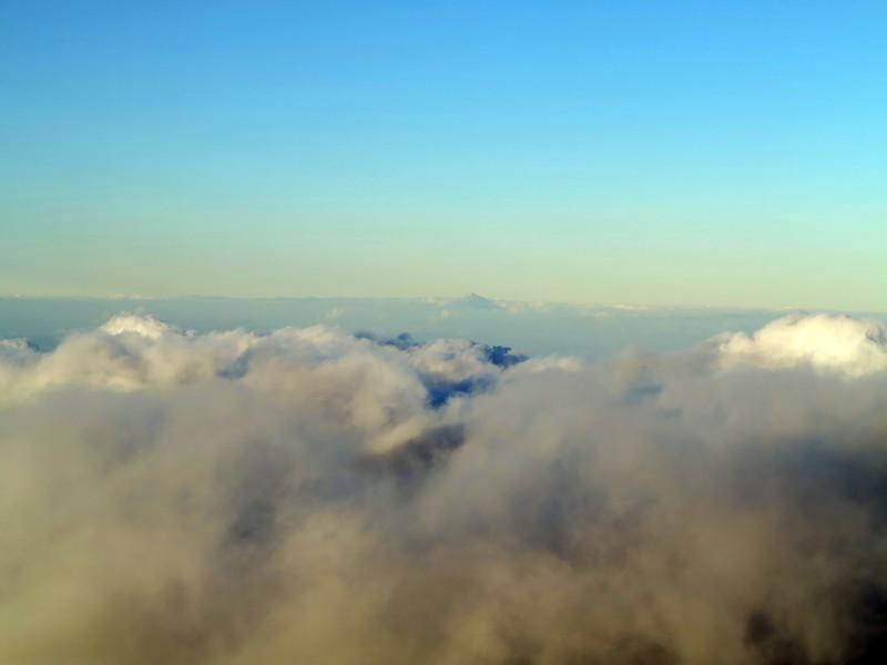 Mt Taranaki from Mt Ruapehu