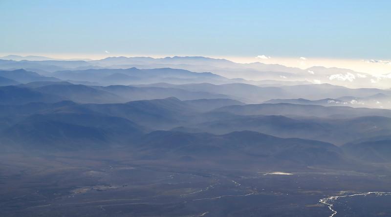 Rangipo Desert and Kaimanawa Ranges from Tahurangi