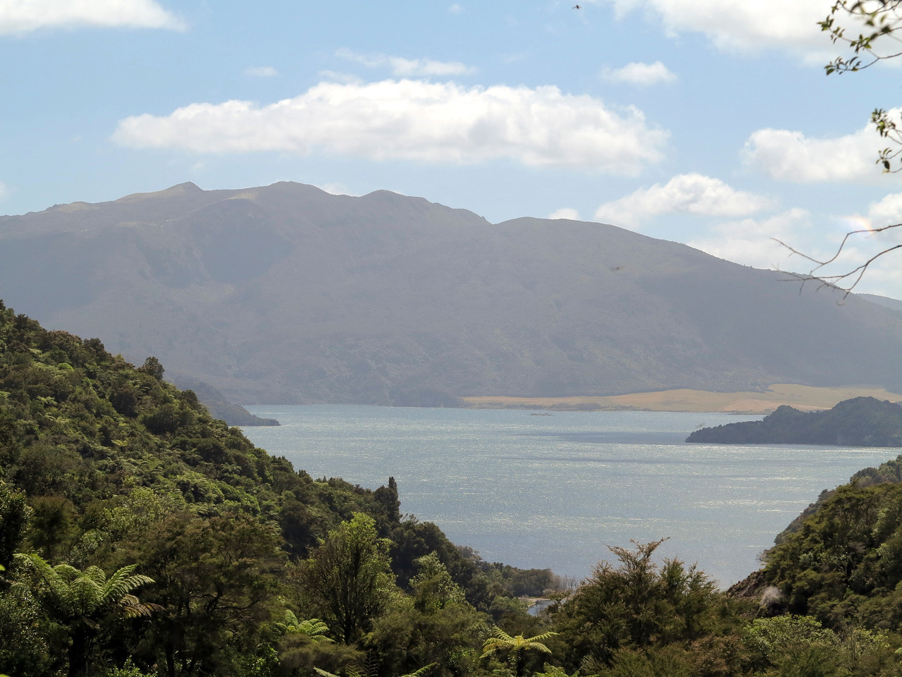 Mt Tarawera and Lake Rotomohana