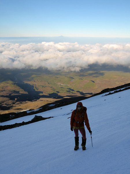 Tiff and Mt Taranaki