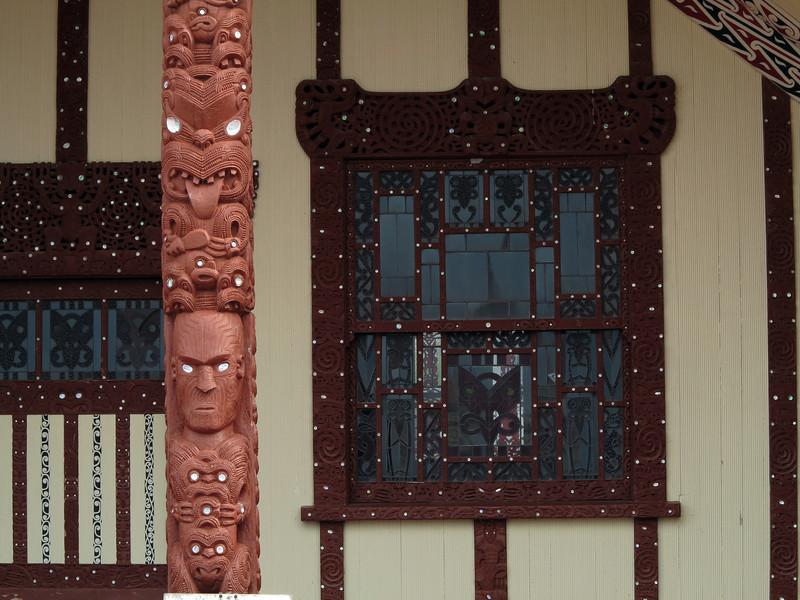 Whare near St Faiths Church, Rotorua