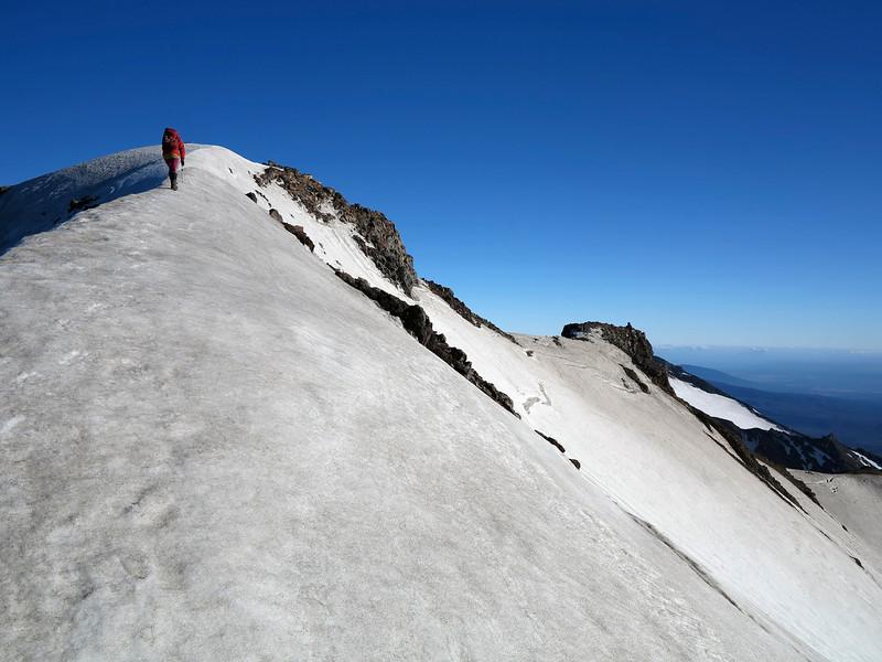 Final wander up to Tahurangi