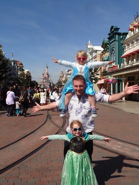 Disneyland Paris April 2015