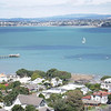 View from Mt. Victoria, Devonport, looking toward Auckland.