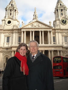 My parents in London, England.