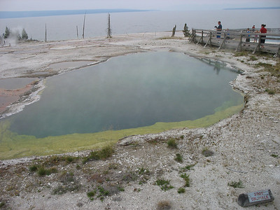 West Thumb, Yellowstone National Park.