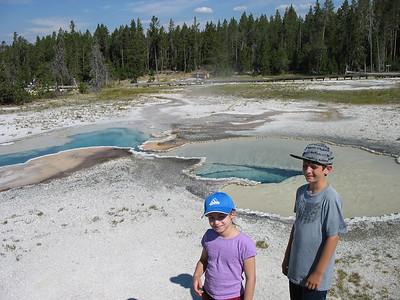 Upper Geyser Basin, Yellowstone National Park.