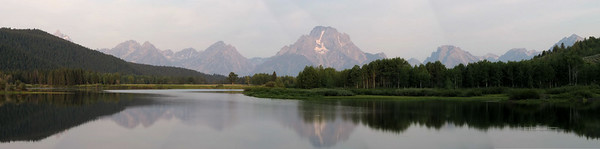 Oxbow Bend Turnout View, Grand Tetons National Park.