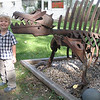 Eric and his favorite dino!