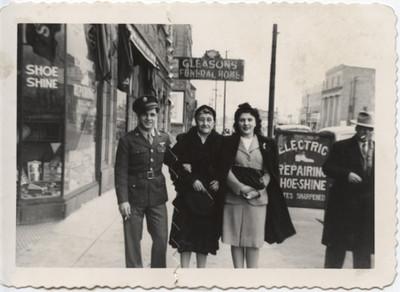 Soldier-Grandma and Mary Santangelo