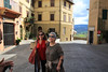 My Cousin Marie from Prato, Italy with  my sister.