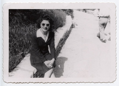 Mary Santangelo sitting-1947