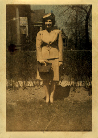Mary Hajik  Taken 7-23-1947