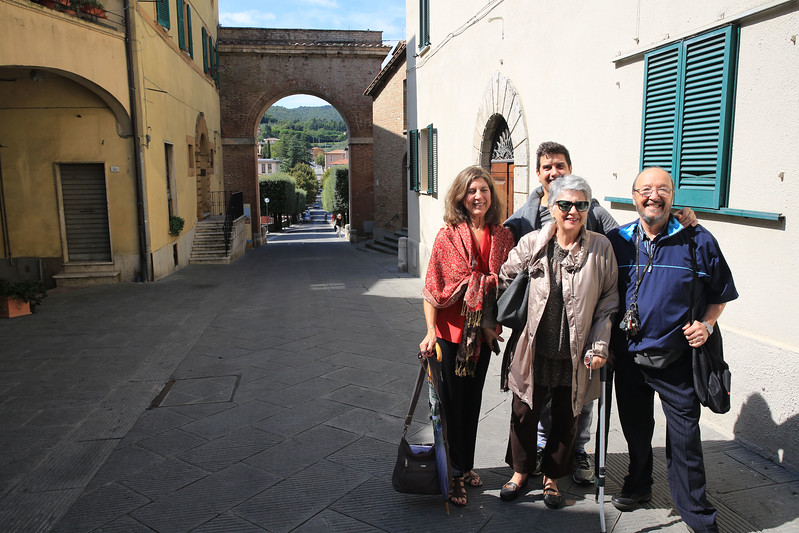My Cousins Luciano and Marie from Prato, Italy with  brother and sister.