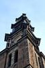 Tower of Westkirk in Amsterdam.