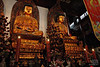 Two of the many types of Buddhas in the Jade Buddha Temple.