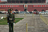 Guards at Tiananmen Square, Beijing.