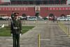 Guards at Tiananmen Square, Beijing.