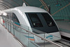 We rode on the Shanghai Maglev train as it traveled at 430 km/h.