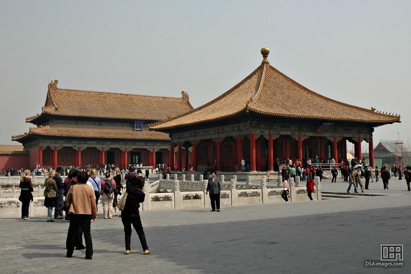 Inside the Forbidden City, Beijing.