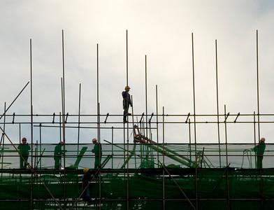 China 250 Beijing Const Workers