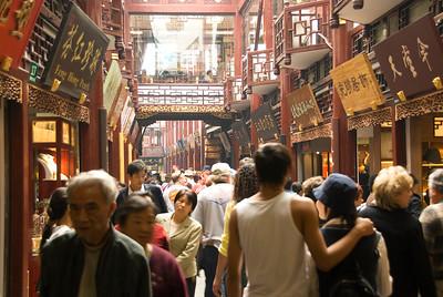 China 216 Bazaar Crowd