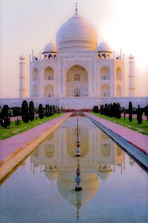 Taj- Alone at Dawn