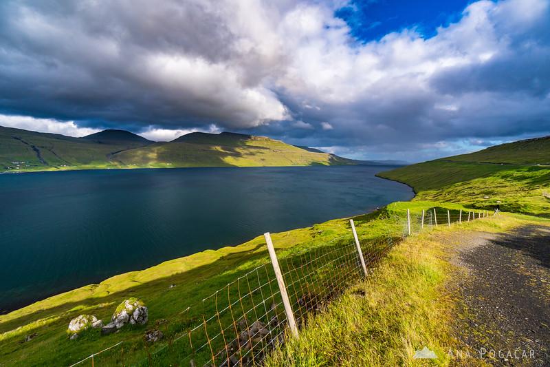 Views from the road near Hósvík
