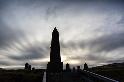 Kongaminnio monument Torshavn