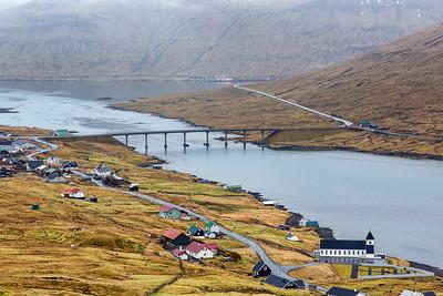 The bridge between Streymoy and Eysturoy Islands