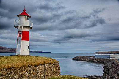 Skansin fortress Torshavn