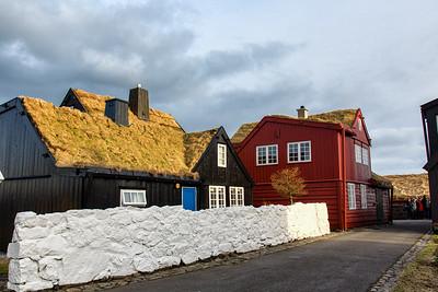 Old town Torshavn