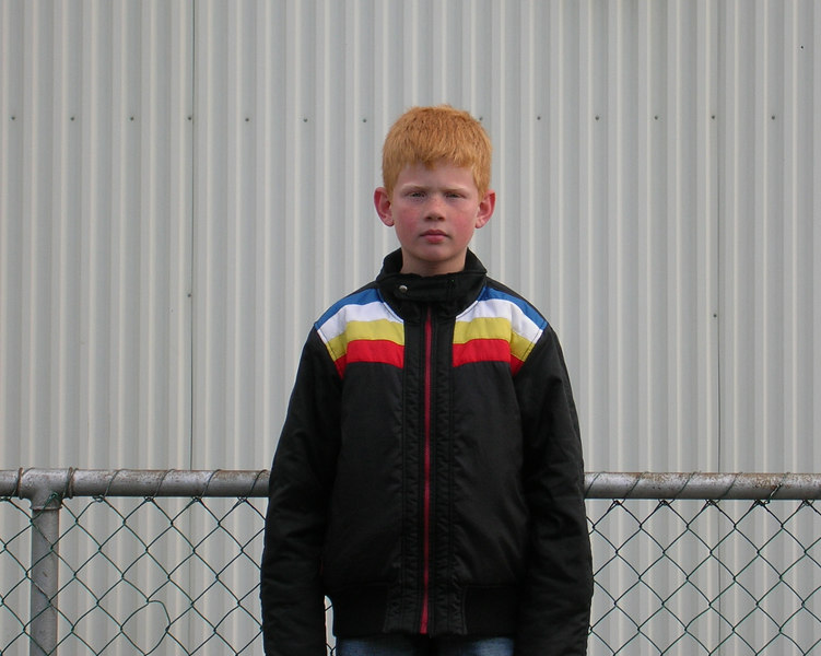 Somehow, while I was in the Faroe Islands, my brother Eric found a time machine and traveled there as his seven-year-old self.