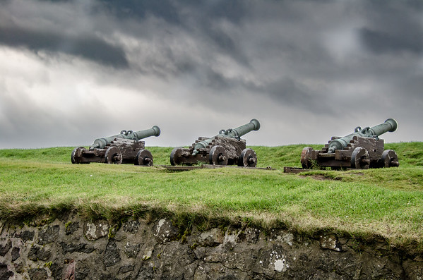 Canons at Thorshaven